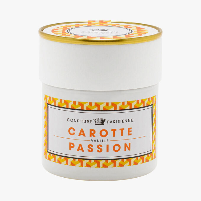 Carrot, passion fruit, vanilla Confiture Parisienne