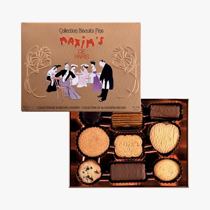 Assortment of 36 fine biscuits Maxim's