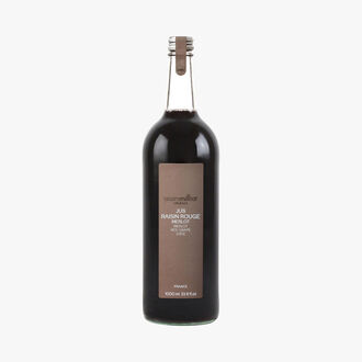 Jus de raisin rouge merlot  Alain Milliat