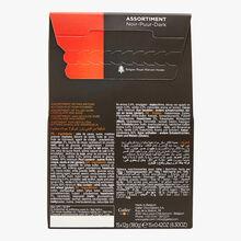 Assortment of dark chocolate mini-batons Galler