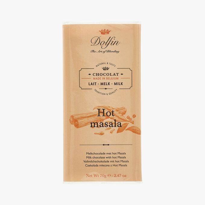 Milk chocolate - Hot masala null