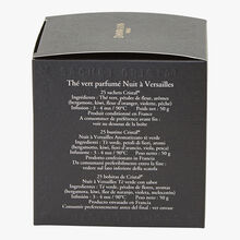 Nuit à Versailles flavoured green tea - Box of 25 teabags Dammann Frères