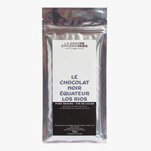Chocolat noir des Equateur Los Rios 72% de cacao La Grande Épicerie de Paris