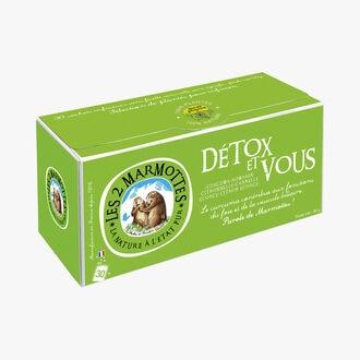 L'infusion Détox et vous Les 2 Marmottes