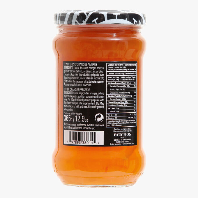 Bitter orange jam Fauchon