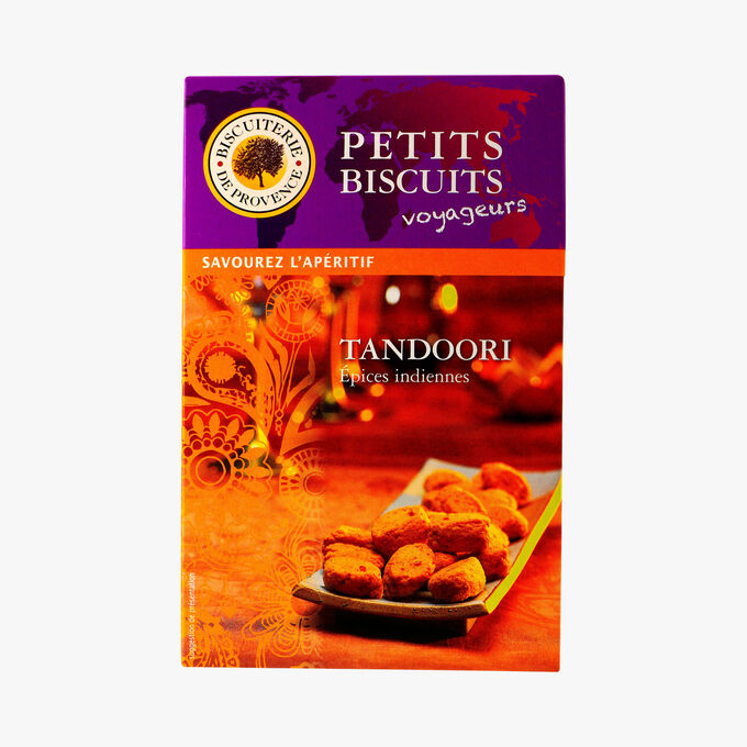 Tandoori aperitif biscuits Biscuiterie de Provence