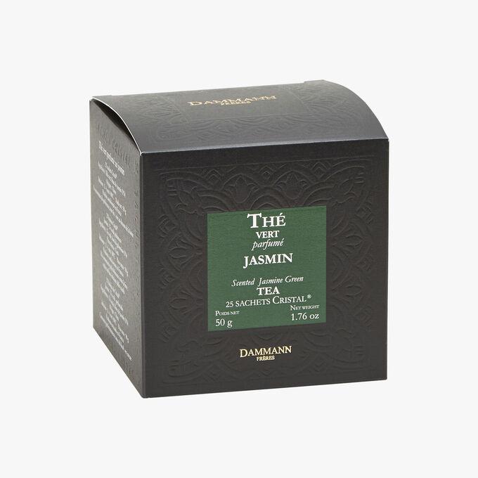 Thé vert parfumé Jasmin - Boîte de 25 sachets Dammann Frères