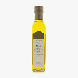 Virgin pine nut oil Huilerie Beaujolaise