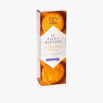 Blésois shortbread with candied orange peel Albert Ménès