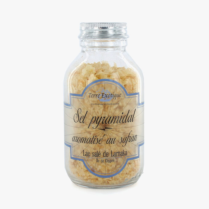 Cyprus salt with saffron Terre Exotique