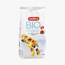 Muesli croquant bio fruits noix Familia
