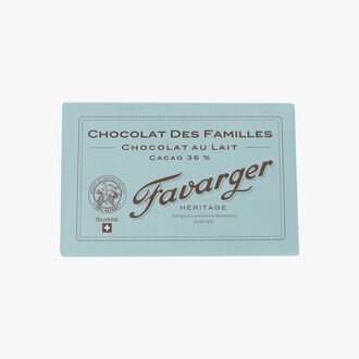 Milk chocolate bar   Favarger