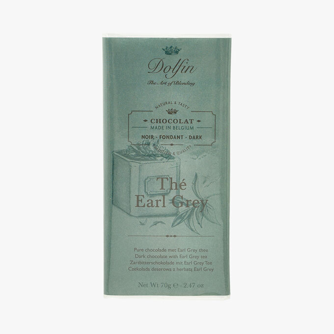 Dark chocolate - Early Grey Tea Dolfin