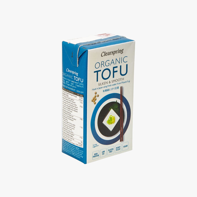 Tofu bio ferme et soyeux Clearspring