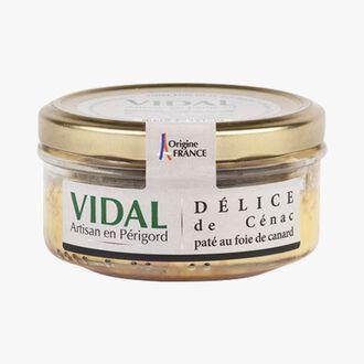Délice de Cénac, duck liver pâté Vidal