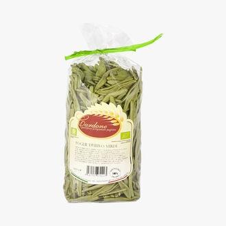 Green olive leaf shaped pasta Cardone