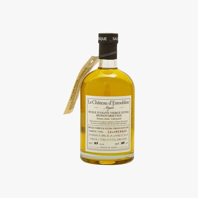 Single-variety extra virgin Salonenque olive oil Château d'Estoublon