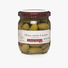 Olives vertes Lucques Albert Ménès