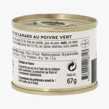La terrine de canard au poivre vert La Grande Épicerie de Paris