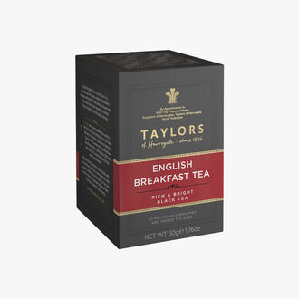 Thé English breakfast, 20 sachets Taylor's of Harrogate