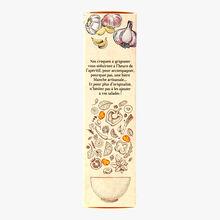 Les croquets, biscuits apéritifs, Ail de la Drôme IGP Biscuiterie de Provence