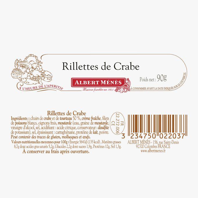 Crab rillettes Albert Ménès