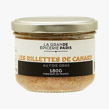 Les rillettes de canard au foie gras La Grande Épicerie de Paris
