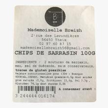 Buckwheat chips Mademoiselle Breizh