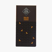 Chocolat noir écorces d'oranges Michel Cluizel