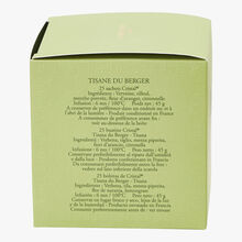 Shepherd's herbal infusion - Box of 25 teabags Dammann Frères