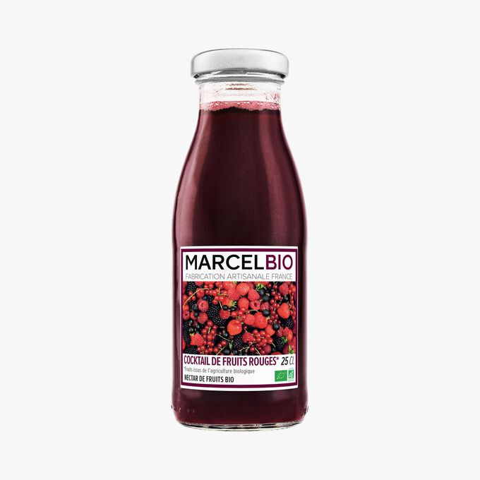 Organic red fruit cocktail Marcel Bio