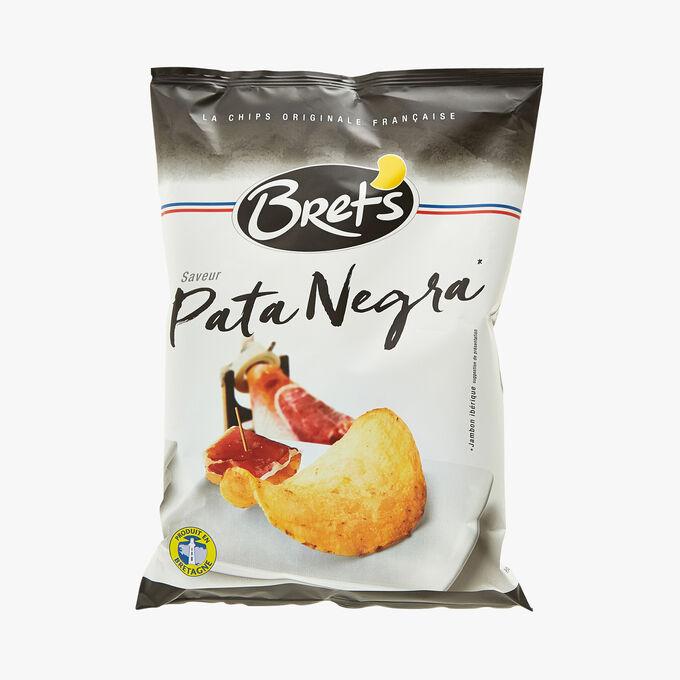 Chips de pommes de terre saveur Pata Negra Bret's