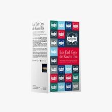 Earl Grey box of 24 muslin tea bags Kusmi Tea