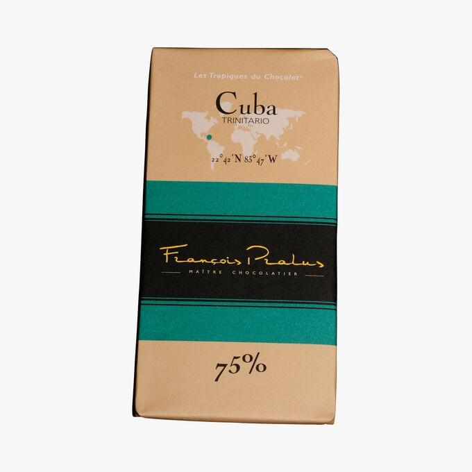 Cuba 75 % chocolate bar Pralus