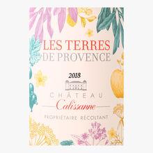 Château Calissanne, Terre de Provence, rosé 2018, AOC Coteaux d'Aix-en-Provence Château Calissanne