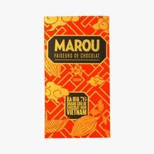 Grand cru de chocolat noir Vietnam Baria 76% Marou