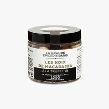 Noix de macadamia à la truffe 1% (Tuber melanosporum) La Grande Épicerie de Paris