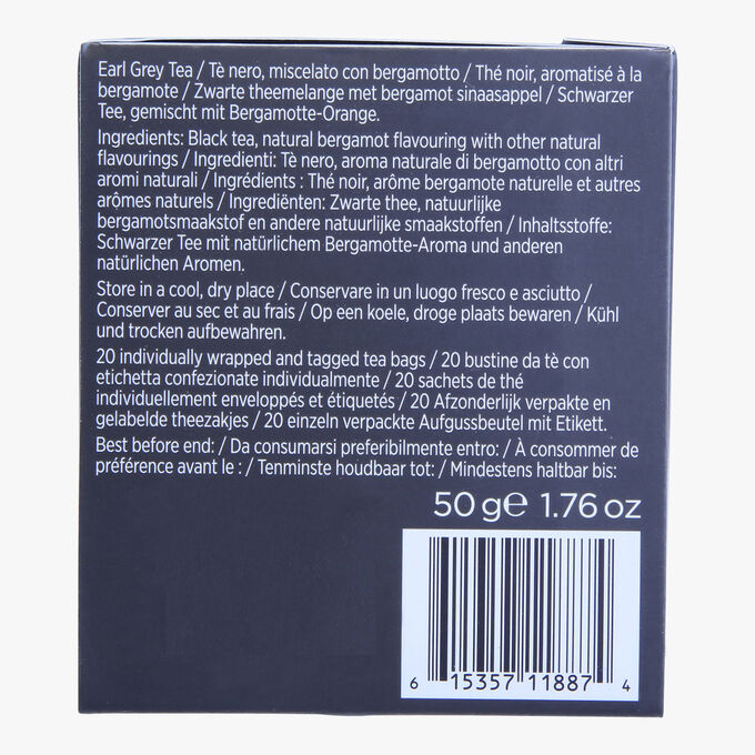 Black tea flavoured with bergamot – 20 teabags Taylor's of Harrogate