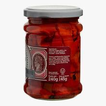 Grilled red pepper slices Bornibus