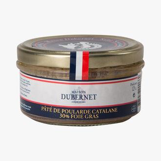 Pâté de poularde catalane 30% foie gras Maison Dubernet