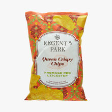 Queen crispy chips - Red Leicester cheese Regent's Park