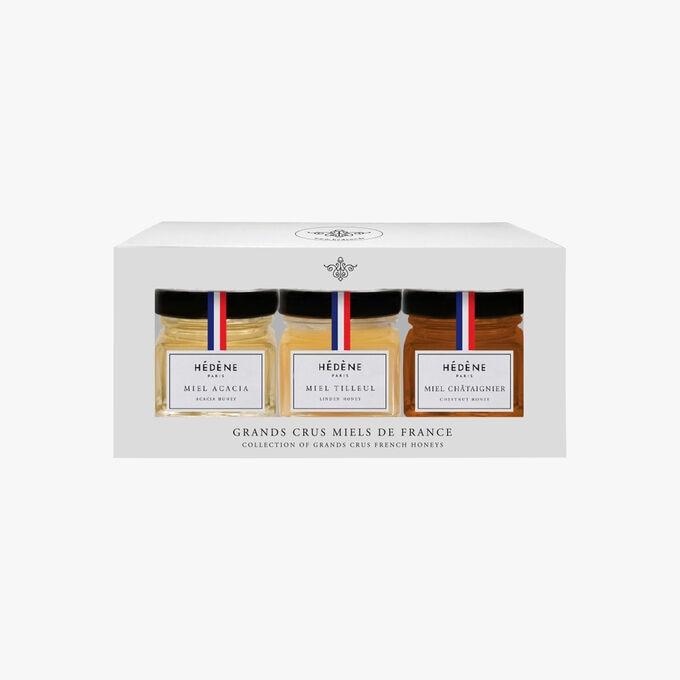 Coffret collection grands crus miels de France Hédène
