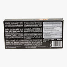 Boules Mozart chocolat fourré de pâte d'amandes-pistaches, pâte d'amandes et praliné Henry Lambertz