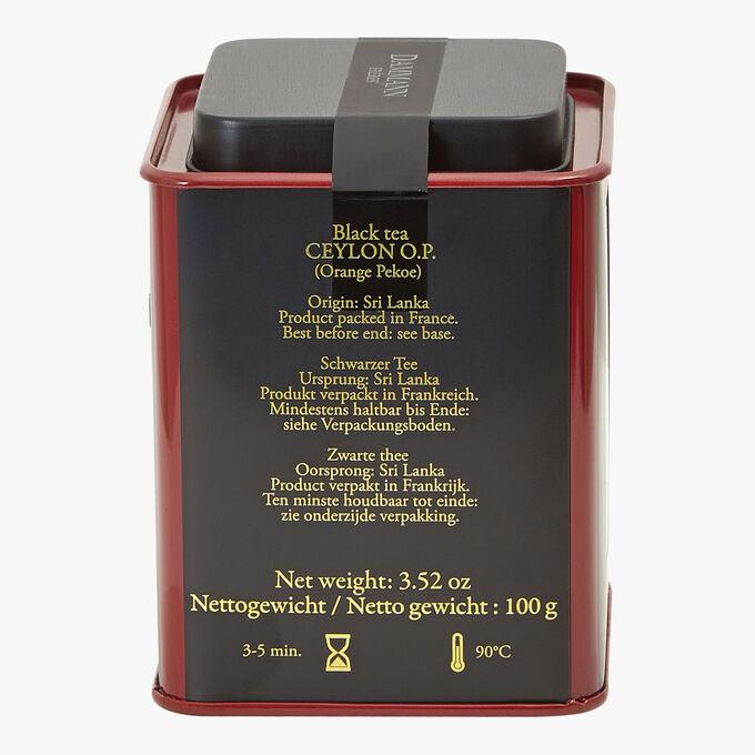 Ceylan O.P. N° 7 black tea Dammann Frères