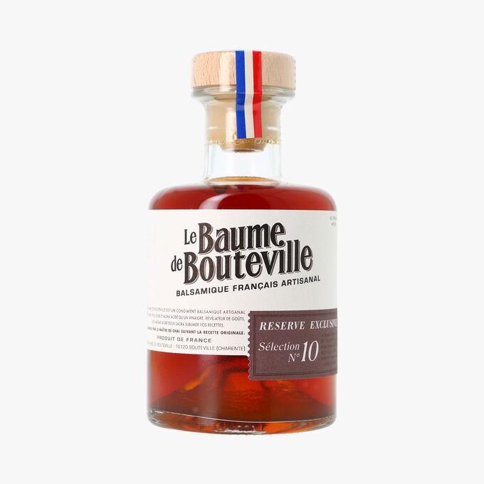 Balsamique français artisanal - Réserve exclusive sélection N° 10 Le Baume de Bouteville