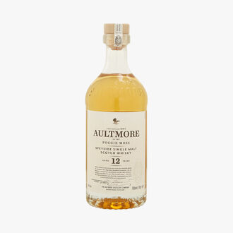 Aultmore 12 year old whisky Aultmore