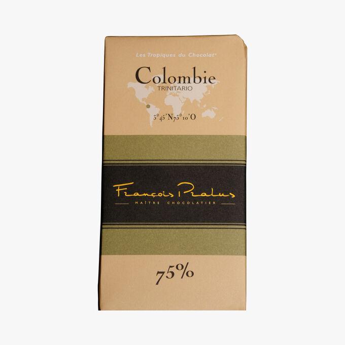 Tablette Chocolat Colombie 75% Pralus
