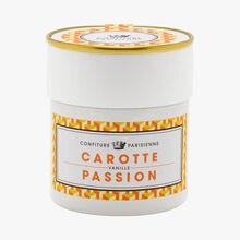 Carotte, passion, vanille Confiture Parisienne