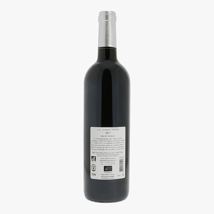 Château Ferran, Vin de France, Le Sans Nom 2017 Château Ferran