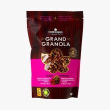 Grand granola - tonique - chocolat espresso, canneberges séchées, cacao & racine d'astragale La Fourmi Bionique